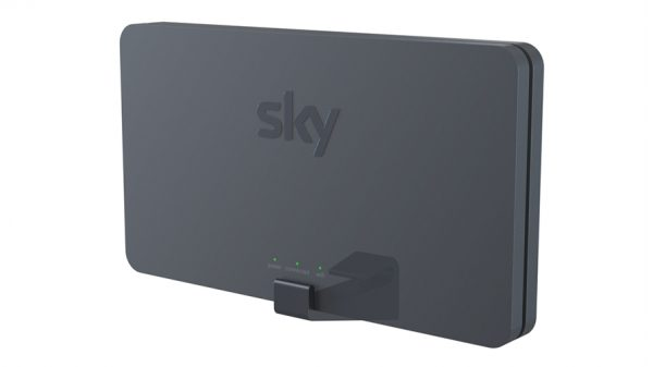 Wall Mount Bracket For The NEW Curved Sky* Broadband WiFi Router – 2019/2020